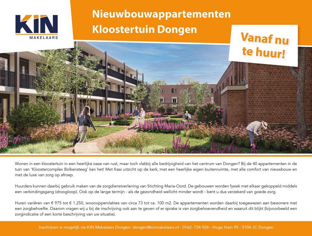 Advertentie Weekblad Dongen